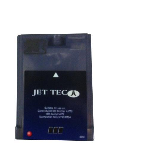 JET TEC-Patrone Canon BJ300 Black