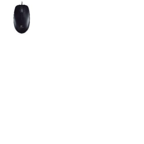 Logitech M-U0004 Maus Optisch USB 3 Tasten
