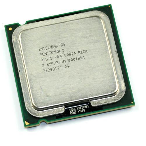 Intel Pentium D Intel Pentium D Dual-Core 2800MHz FSB 800 2048 KB Socket 775