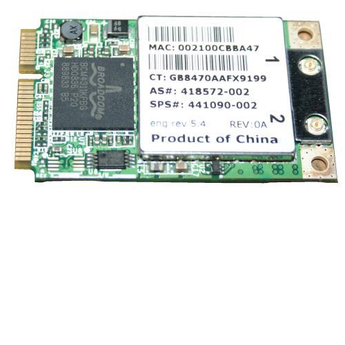 WLAN-Modul für HP 6715s 6710b NC6400 HP Mini PCI WLAN Card 418572-002