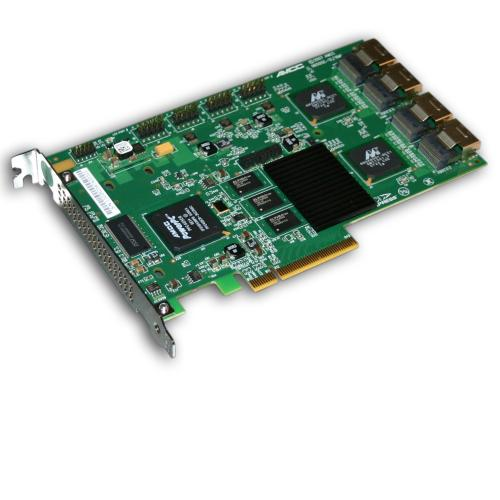 LSI 3Ware 9650SE-16ML 16-port SATA Raid Controller PCI-Express x8 + 4 Break-out Cable