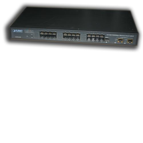 PLANET FGSW-2620S 10/100/1000 RJ 45 24x Port 19