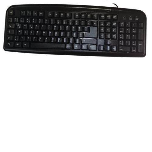 OEM PC  Keyboard Black/Schwarz USB-Tastatur DE Deutsch/German