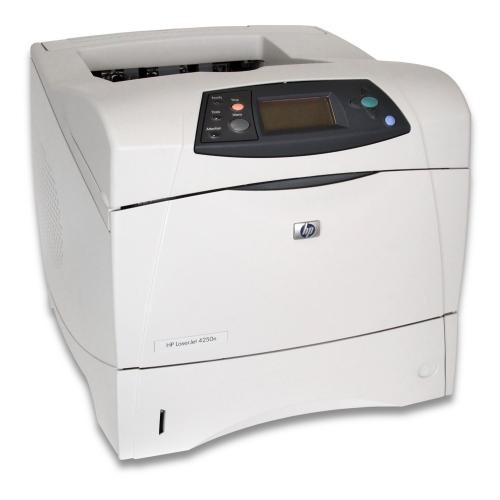 HP LaserJet 4250n 43 Seiten/Minute 1200 x 1200 dpi USB2.0 Toner vorhanden Trommel B-Ware 250 Blatt b