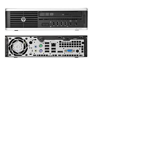 HP Elite 8000 USFF Intel Core 2 Duo E7500 2930Mhz 8192MB 250GB Win 7 Professional Desktop