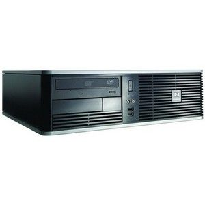 HP dc5750 SFF AMD Athlon 64 X2 4000+ 1024MB 40GB DVD-RW LightScribe Win Vista Business COA Desktop