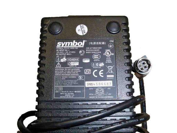 Symbol P/N 50-1400-109 8 Volt 5,0 Ampere