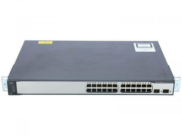 "Cisco Systems WS-C3750V2-48TS-S 10/100 RJ 45 48x Port 19"""