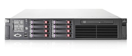"HP ProLiant DL380 G6 1x Intel Xeon E5520 2270MHz 8192MB 5x 146 GB SAS 10/100/1000 RJ 45 DVD 19"" Rack"