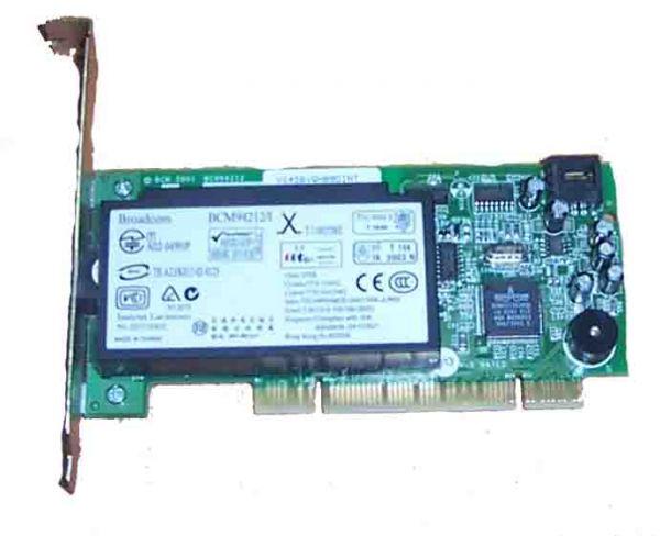 Dell BCM94212/I Analog PCI RJ-11 ATX